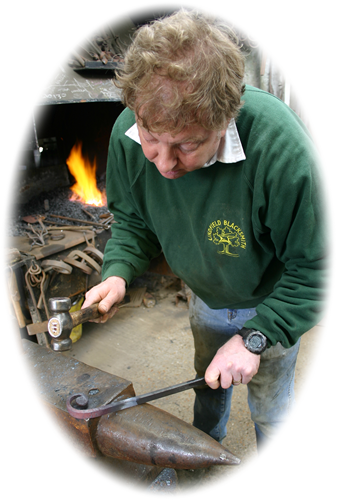 The Lindfield Blacksmith Forging a Scroll
